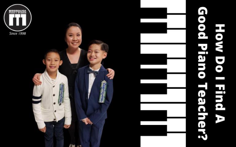 How Do I Find A Good Piano Teacher?