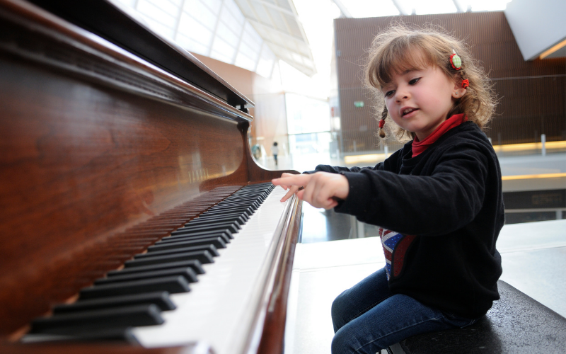 Benefit from piano lesson